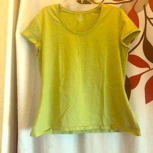 George women light green stretch T shirt
